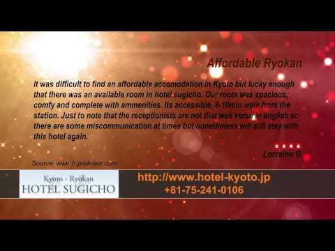 Hotel Sugicho - REVIEWS - Kyoto Ryokan & Onsen Kyoto Reviews