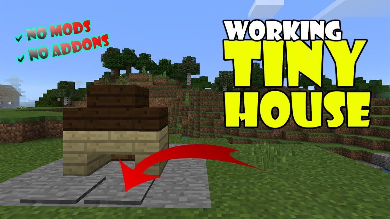 Working Tiny House Minecraft Pe Pocket Edition Mcpe