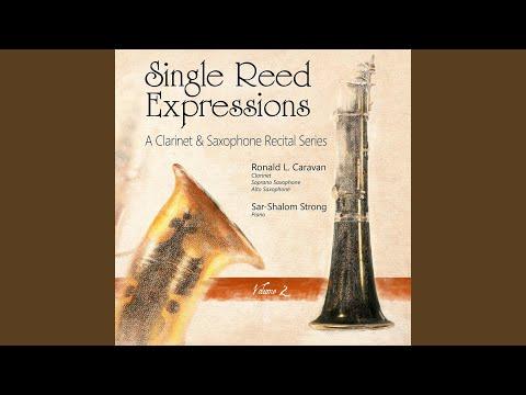 Concertino for Saxophone: II Aeolian Song Version for Alto Saxophone & Piano