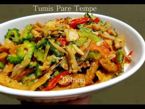Resep Tumis  Pare ,Tempe & Teri.