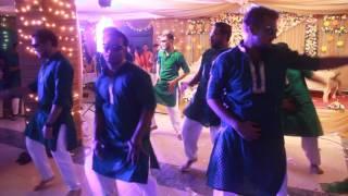 ~DHAKAR POLA~ in RIZWAN's HALDI NIGHT 2016