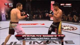 Top 10 UFC Momentos del 2012