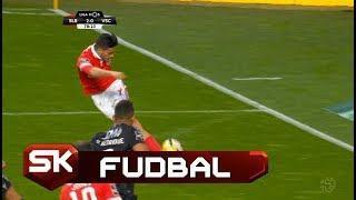 "FUDBAL   Raul Himenez Asistencija ""Rabonom""   Benfika - Gimaraeš Sport Klub"