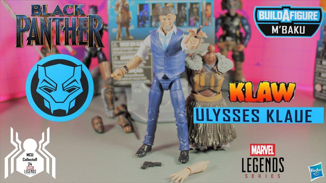 Marvel Legends Black Panther Wave 2 M/'Baku BAF Series Ulysses Klaw// Klaue FIGURE
