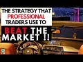 The Forex Strategy That Professional Traders Use To Beat The Market (SECRET REVEALED)