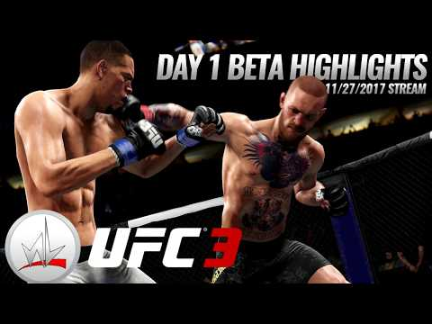 nL Live - UFC 3 BETA Day 1 Highlights! (11/27/2017)