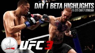 nL Live - UFC 3 BETA Day 1 Highlights! (11/27/2017)