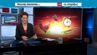 Rachel Maddow- Daylight-saving time explained