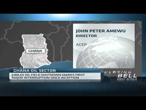 Tullow oil shuts production at Ghana's Jubilee Offshore oil field