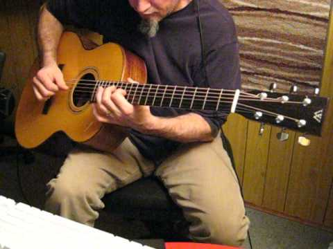 David Webber Roundbody guitar in DADGAD