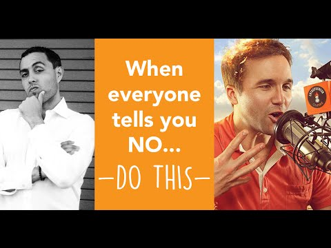 Interview with John Lee Dumas - When everyone tells you NO... DO THIS!