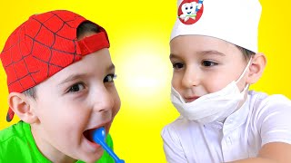 Dentist Song | Healthy Habits Nursery Rhymes & Kids Songs by Nart JJ