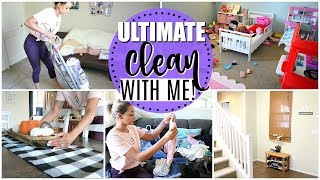ULTIMATE ALL DAY CLEAN WITH ME | EXTREME CLEANING MOTIVATION