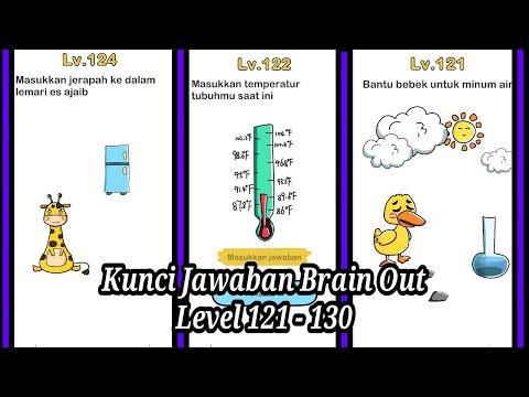 Kunci Jawaban Brain Out Level 121 130 Youtube