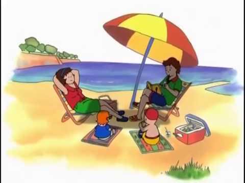 kayu plajda caillou turkce cizgi film izle
