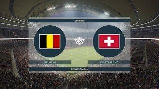 PES 2019 | Belgium vs Switzerland - UEFA Nations League 2018/19 | Full Gameplay (PS4/Xbox One)