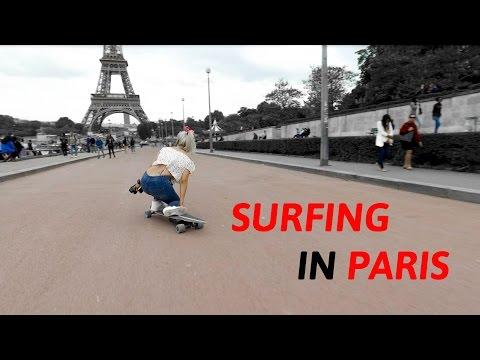 ELECTRIC SKATEBOARDING @ Trocadero & Notre-Dame | Paris, France