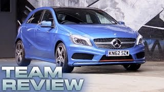 Mercedes Benz A Class Team Review Fifth Gear
