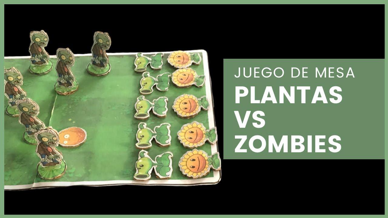 Como Hacer Un Juego De Mesa De Plantas Vs Zombis Youtube