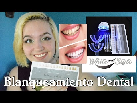 Kit blanqueamiento dental de WhiteWithStyle