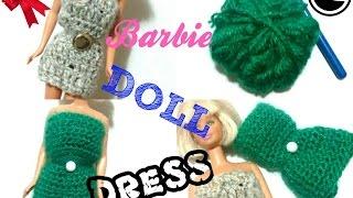 Diy: Crochet A Barbie Doll Dress ☆