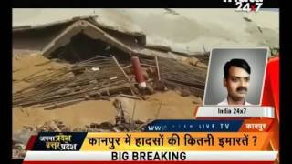 Cold storage building in Kanpur's Shivrajpur collapses
