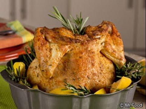 Lemon Bundt Pan Chicken Youtube