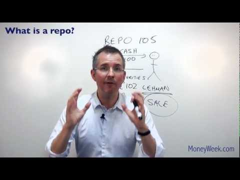 What is a repo? - MoneyWeek investment tutorials