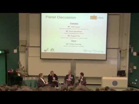 Panel Discussion: Mr. Jake Layes, Mr. August Tiu and Mr. Davis Bookhart
