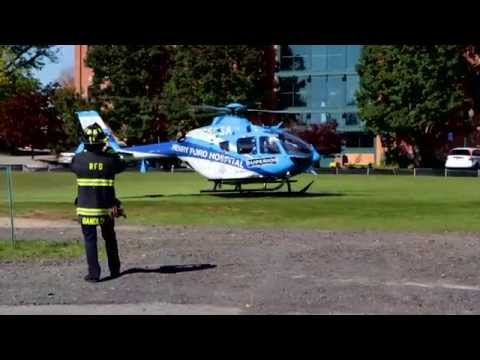 Henry Ford Hospital / Superior  Air Med 1 Lift Off