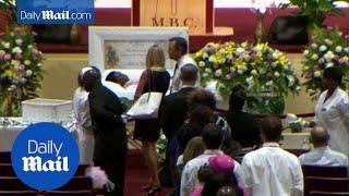 First funerals held for Charleston shooting victims - Daily Mail