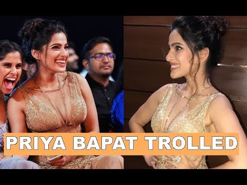Priya Bapat gets trolled for wearing bold dress, actress gives befitting reply thumbnail