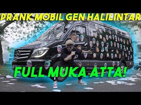 Lagu Video Prank Mobil Gen Halilintar! Full Muka Atta!! Terbaru