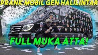 PRANK MOBIL GEN HALILINTAR! Full MUKA ATTA!!