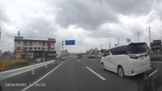 20160503 岐阜市 警察官が立って取り締まり