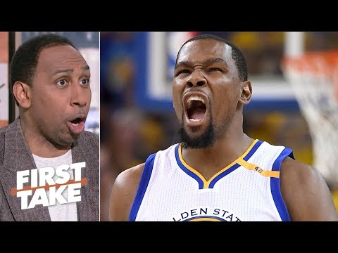 Kevin Durant is the best player in the NBA right now - Stephen A. | First Take thumbnail