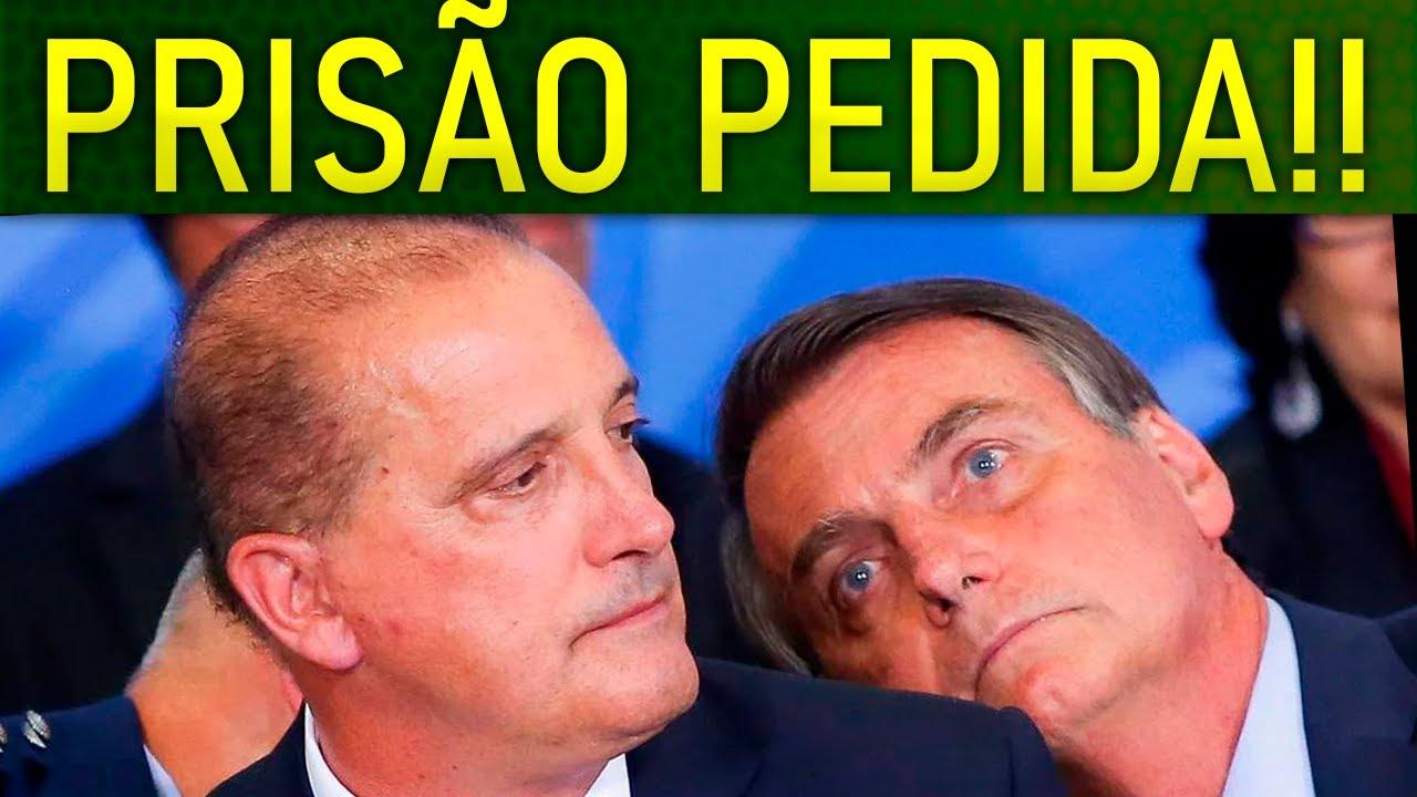 PROTOCOLADO PEDIDO DE PRISÃ0 DE ONYX!! LUIS MIRANDA PROMETE B0MBA NA CPI