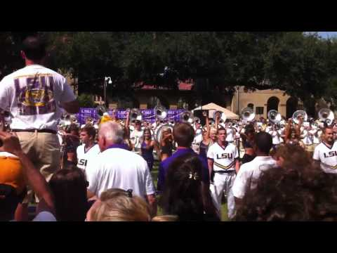 """Lsu Tiger Band """"All of the Lights"""" Fall Fest 2011"""