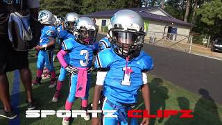 RockMart vs Panthers 6U Youth Football | Ballers Game | Atlanta Ga | Football Nation
