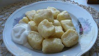 Ленивые вареники из творога-быстрый ужин или завтрак.