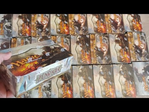 INCREDIBLE Zendikar Booster Box Opening...It is STILL all about the FETCH