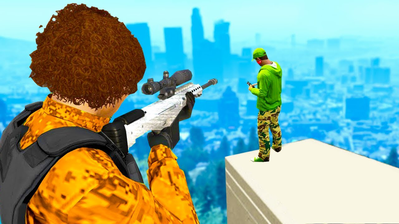 Playing as A HITMAN in GTA 5 RP!