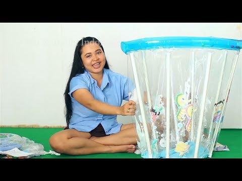 Kompilasi Video Unboxing Kolam Renang Balita Lucu - 9 kolam Renang Shanti - kids swimming pools