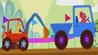 Мультфильмы для детей Рабочие машины Мультики про машинки Строительные машины