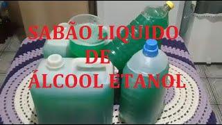 Sabão Liquido De Etanol E Bicarbonato