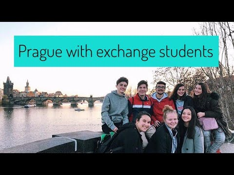 PRAGUE WITH EXCHANGE STUDENTS