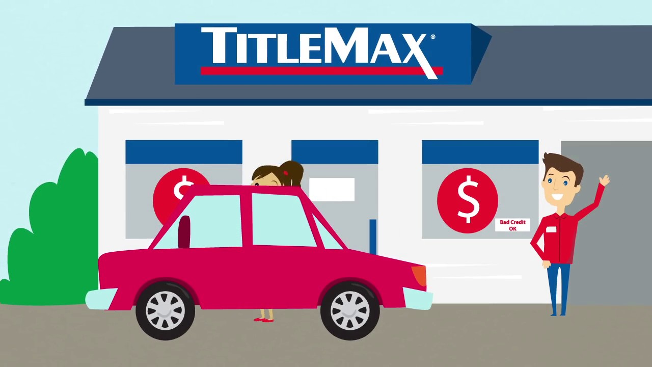 Titlemax Vehicle Title Secured Loan Title Pawn Youtube