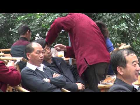 Chinese ear cleaning(1) @ Chengdu 成都