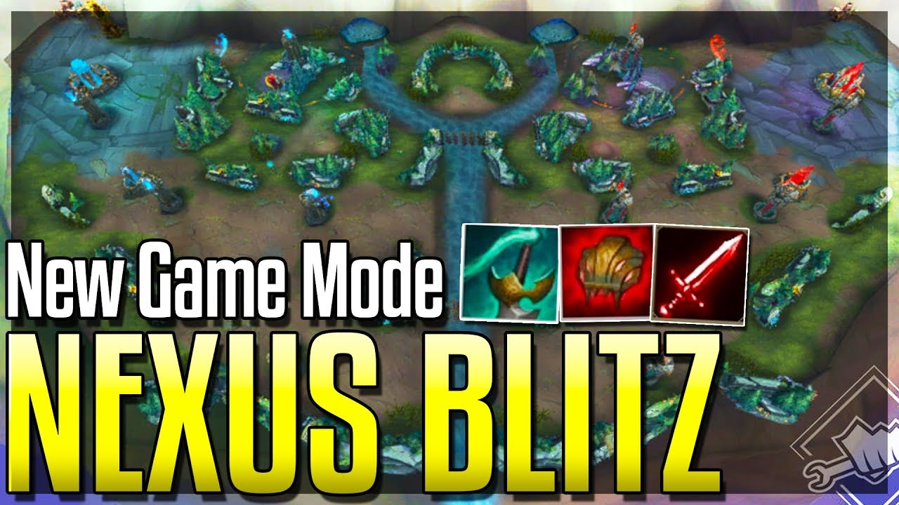 NEW GAME MODE NEXUS BLITZ New Map Items & MORE Nexus Blitz