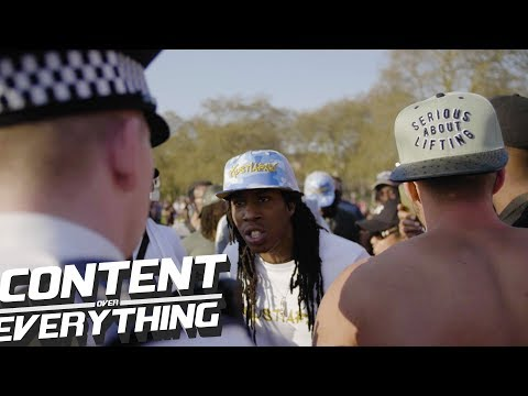 G.A.N.G Vs Police At 420 Hyde Park 2018